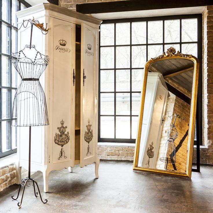 """#вешалка """"Маркиза"""" (черный антик), #гардероб «Клод», #декупаж - версия """"Принцесса"""". #мебель, #шкаф, #интерьер, #декор, #прованс, #objectmechty, #furniture, #decoupier, #provence, #hatstand, #wardrobe, #interior, #decor"""