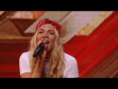 The X Factor UK 2015 S12E01 Auditions - Louisa Johnson - YouTube