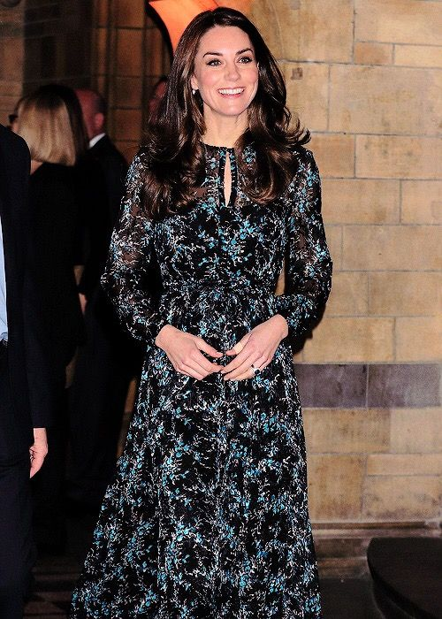 The Duchess of Cambridge enjoyed a tea party to say bye to Dippy, The Natural History Museum's Diplodocus || 22 November 2016
