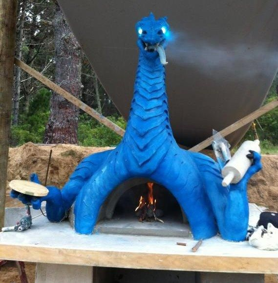 Outdoor Kitchen Ideas With Pizza Oven
