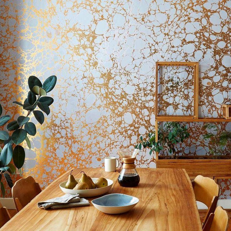 Announcing another Collective Concept exhibitor Calico Wallpaper. via- wallpaper, design