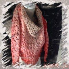 3 punts-sjaal in prachtige kleuren.