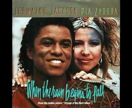 Jermaine Jackson & Pia Zadora - When The Rain Begins to Fall