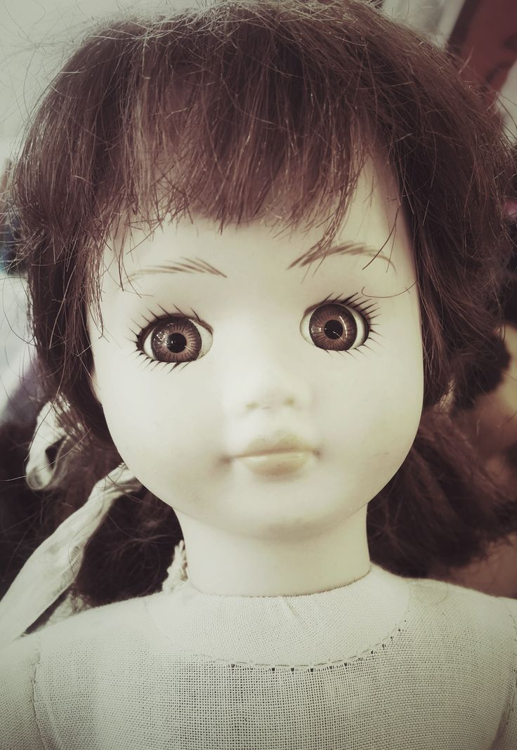 'Polly', Charity shop doll.