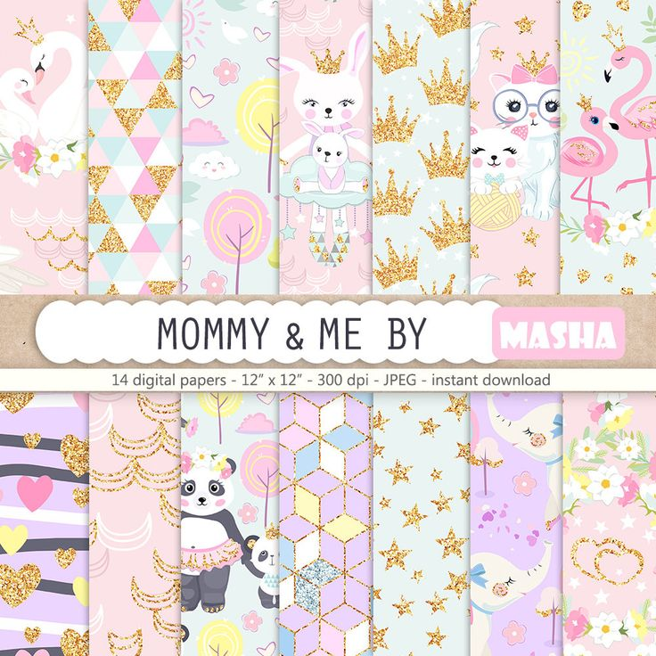 Excited to share the latest addition to my shop: Nursery Digital Paper Pack, Mommy and Me Digital Papers, Baby Animal Pattern, Mother Digital Paper, Baby Planner Stickers, Baby Patterns #nursery #digitalpaper #mothersday #babyshower #digital #blue #pink #print #etsy #art http://etsy.me/2nUr99A
