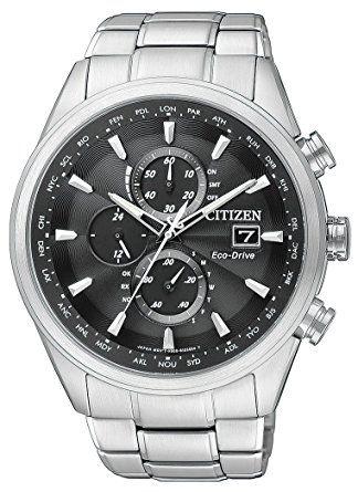 Citizen Herren-Armbanduhr Analog Quarz Edelstahl AT8011-55E