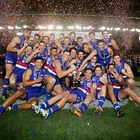 Presenting your 2014 VFL Premiers! Footscray Bulldogs!