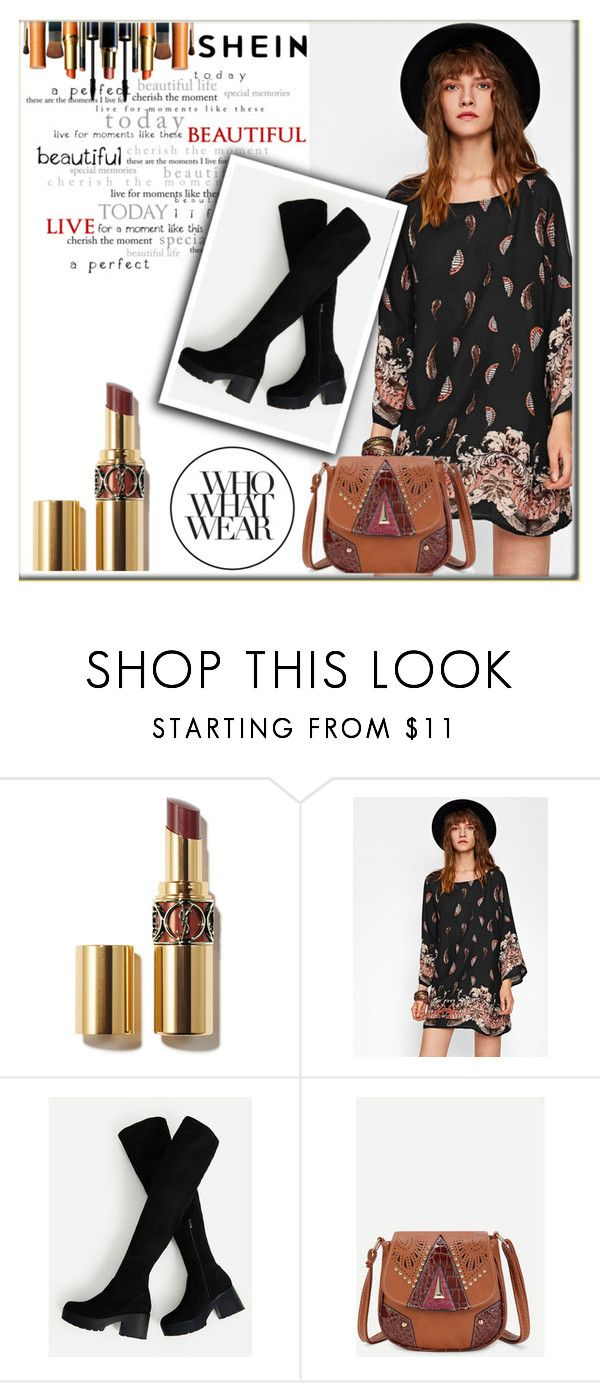 """Shein 6"" by adelisa56 ❤ liked on Polyvore featuring Who What Wear and shein"