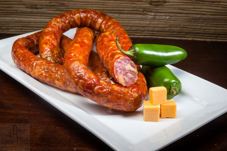 Cheese and Jalapeño Cajun Sausage by LonePinePhotography.com