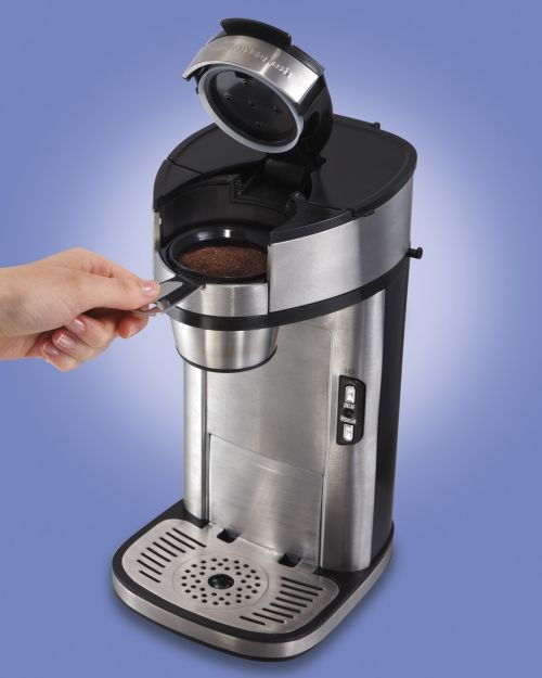 The Scoop® Single-Cup Coffee Maker   One Cup Coffee Maker   Hamilton Beach