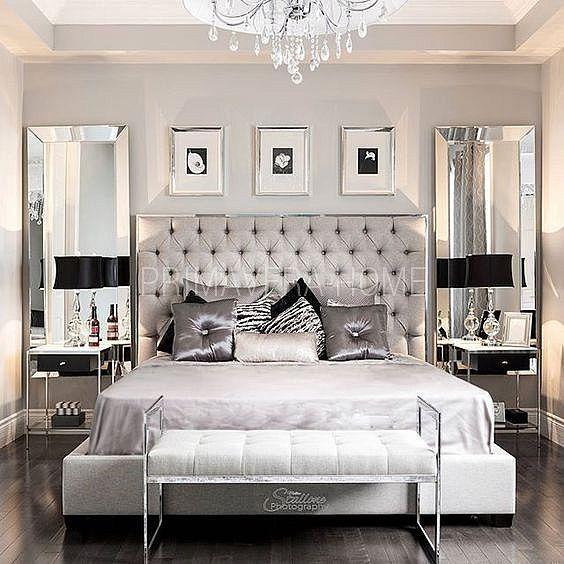 Łóżko tapicerowane stalowe nowoczesne styl nowojorski glamour SPECTRE