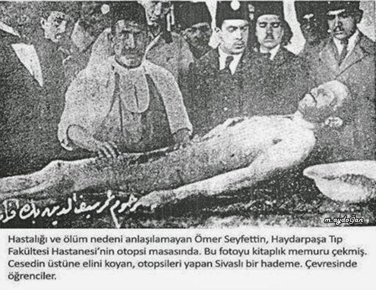 Ömer Seyfettin 23 Şubat 1920'de şeker hastalığından ötürü son durağı olacak Haydarpaşa Hastanesi'ne kaldırılmış, 6 Mart 1920'de ise bu hastanede son nefesini vermişti. Bayazoğlu ünlü yazar Ömer Seyfettin'in hazin ölümü