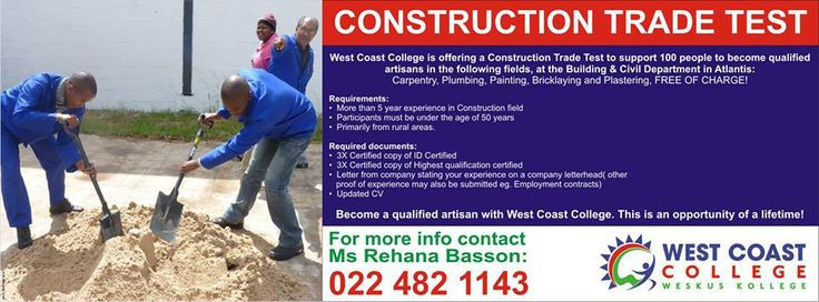 Construction Trade Test at Atlantis Campus. Image supplied by WCC.