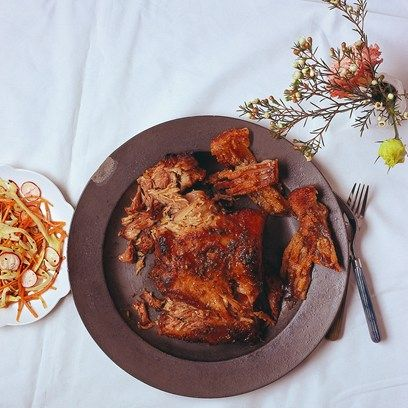 Pulled Pork With Spiced Carrot