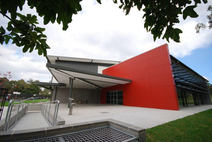 Ritek Ecotek Roof Panel used at Edmund Rice College.