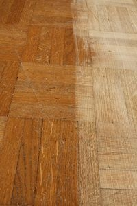 How To Refinish A Parkay Floor. Parquet Wood FlooringRemodeling