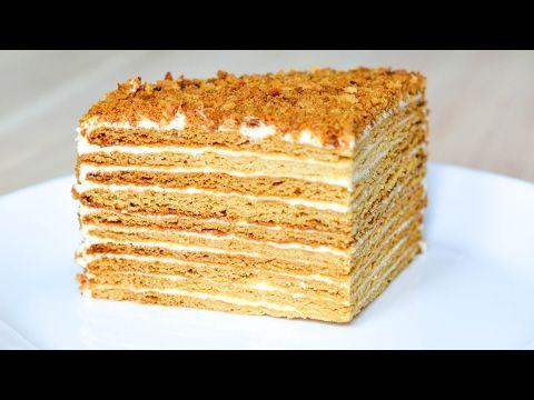 (1) Торт «Медовик» на Новый год   Александр Селезнев  Сладкие истории - YouTube