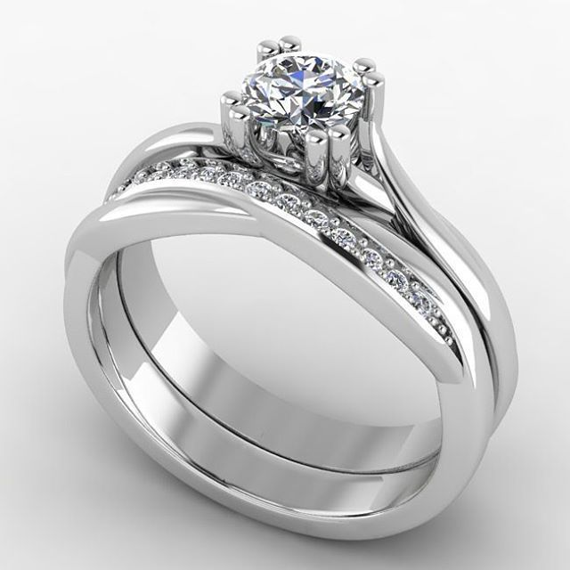 63 best White Gold Wedding Bands images on Pinterest White gold