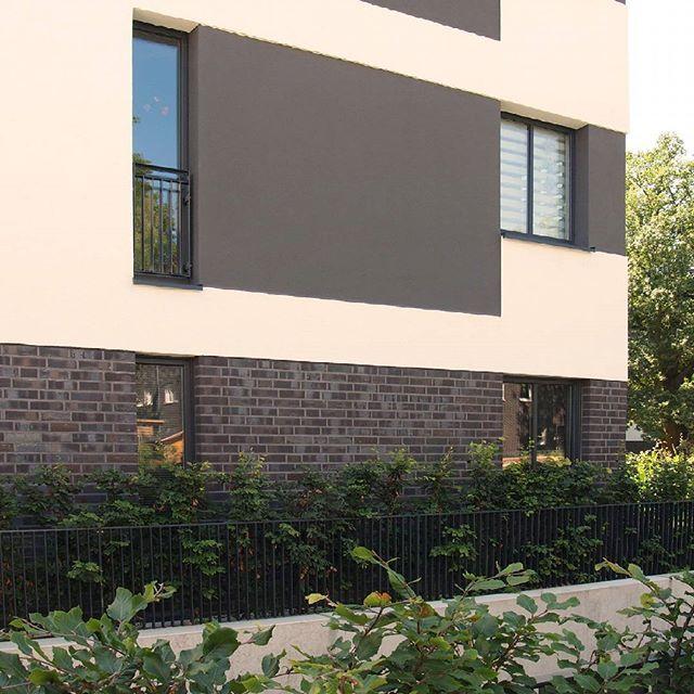 """Elfriede-Lohse-Wåchter-Weg, Hamburg, DE -Sortierung """"Manchester"""" #hagemeister #clinker #brick #brickarchitecture #iarchitectures #architecture #archilovers #facade"""