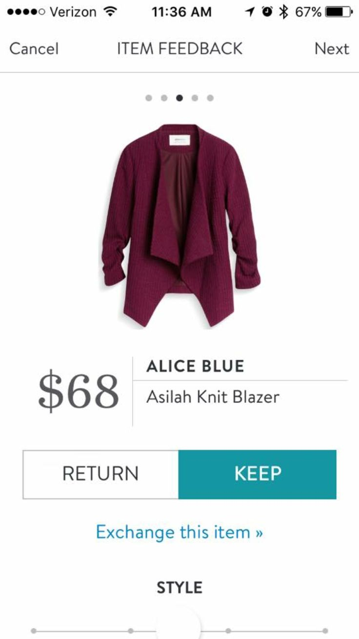 Pretty blazer and color. I love Stitch Fix! A personalized styling service and it's amazing!! Simply fill out a style profile with sizing and preferences. Then your very own stylist selects 5 pieces to send to you to try out at home. Keep what you love and return what you don't. Only a $20 fee which is also applied to anything you keep. Plus, if you keep all 5 pieces you get 25% off! Free shipping both ways. Schedule your first fix using the link below! #stitchfix @stitchfix. Stitchfix Fall…