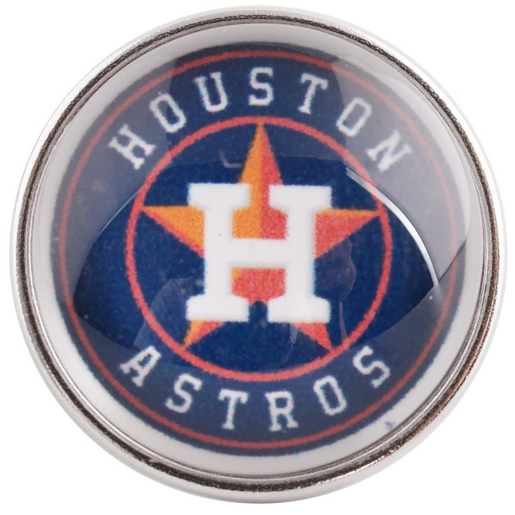 #37417 - Snap Jewelry - Snap - Houston Astros
