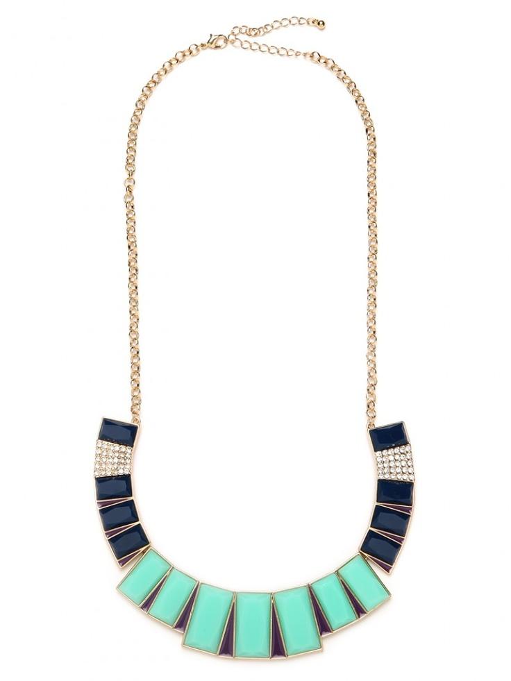 art deco bib necklace @Nina Garcia for bauble bar