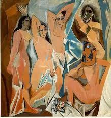 Pablo Picasso Les Demoiselles d'Avignon (1907)