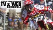 2013 National Motocross TV Schedule