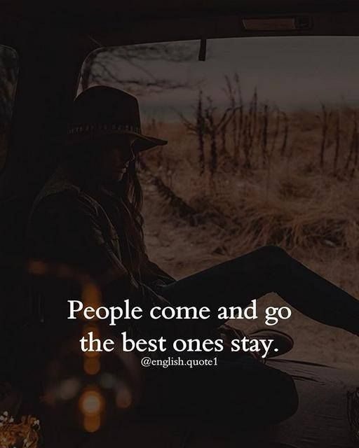 People Come And Go Wisdom Life Quotes Best Positive Quotes