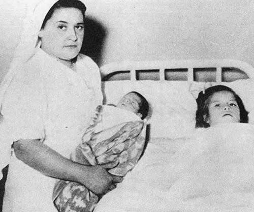 Lina Medina, the youngest confirmed mother in medical history, 1939