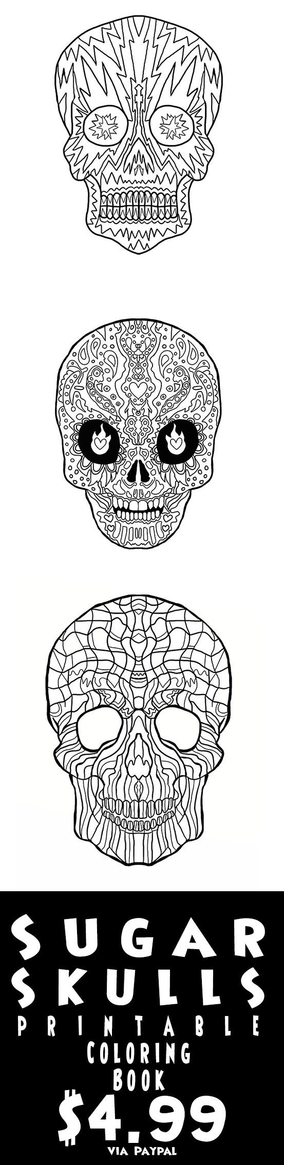 55 best day of the dead sugar skulls anti stress coloring book