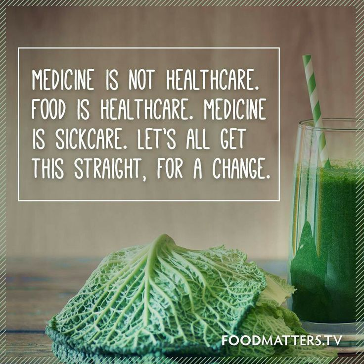 Believe in and use the healing power of natural holistic lifestyle and healthy clean living not medicine that's cause more illness.