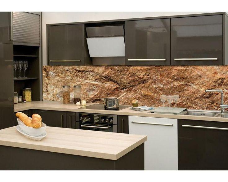 ↵  KÜCHENRÜCKWAND        - Selbstklebend, präzise Auflösung und einzigartiges Design    Produkt: Küchenrückwand   Material: Selbstklebende laminierte Folie    Stärke: 170 µ (0,17 mm)   Größe: 260 x 60 cm  Verpackung: Küchenrückwand Folie          Die neusten Trends im Bereich Küchengestaltung machen auf selbstklebende Fototapeten für die Küchenrückwand aufmerksam. Anstelle einer Fliesenwand in der Küche kann die Rückwand mit einer Folie bedeckt werden. Die Atmosphäre des Kü...