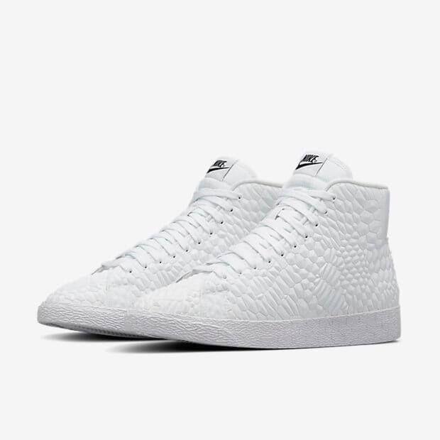 Nike Murs Blancs Blazer Crucifères