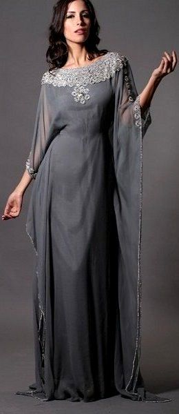 Crystal Stone Kaftan Dresses (Nisaa Boutique)
