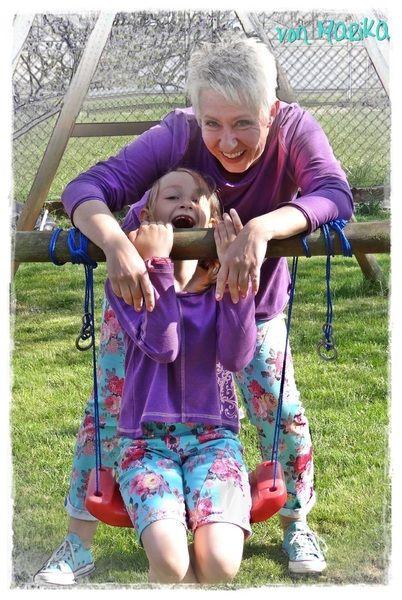 Kombi ebook Mutter Kind girlfriend & kidsfriend von Schnittherzchen auf DaWanda.com