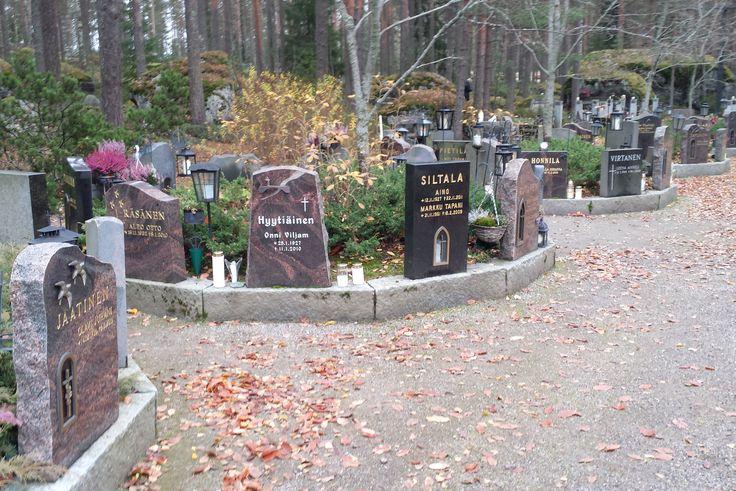 All Saints' Day 31st October 2015, Levo Cemetery in Lahti Finland, pyhäinpäivä Levon hautausmaalla Lahdessa 2015 (photo Arja Keskitalo)