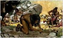 Primeros hombres de la Tierra/First men on Earth
