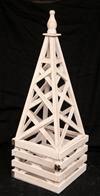 Ανθοστήλη Ξύλινη σε σχήμα πυραμίδας!