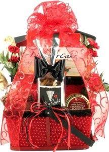 Gift Basket Village Valentine Gift Basket for Men