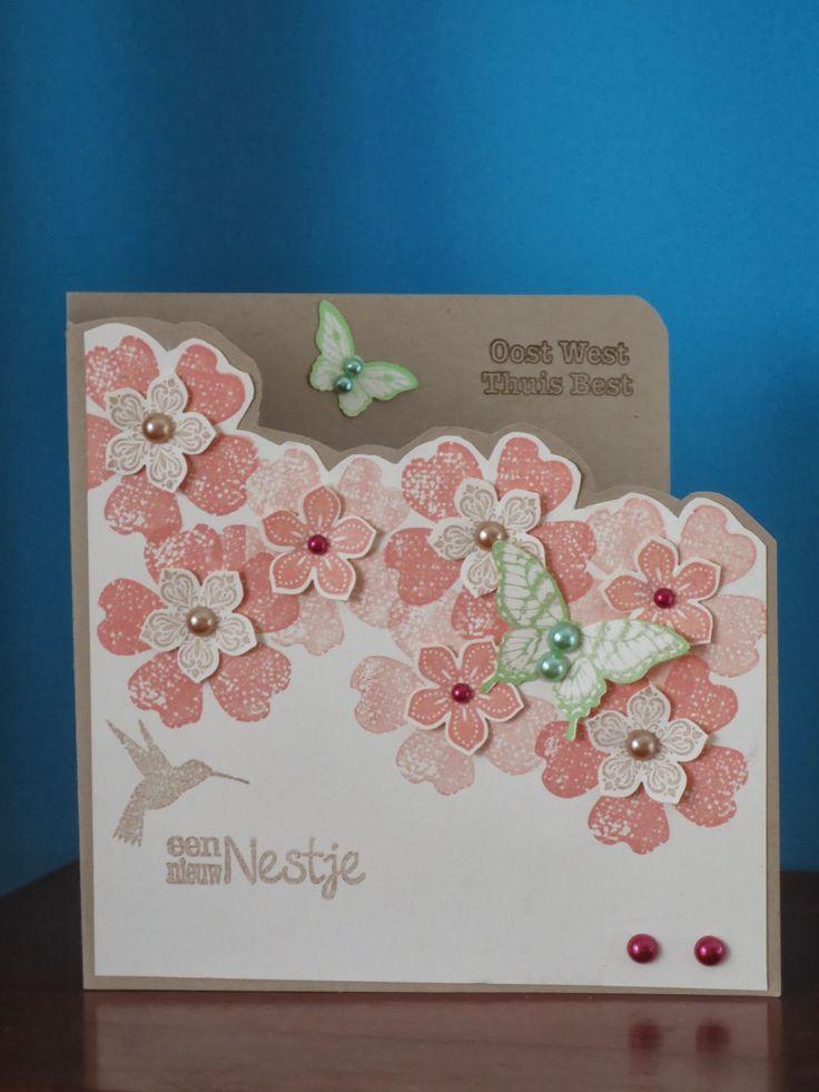 Stampinggranny - Ankie: Een lentekaartje