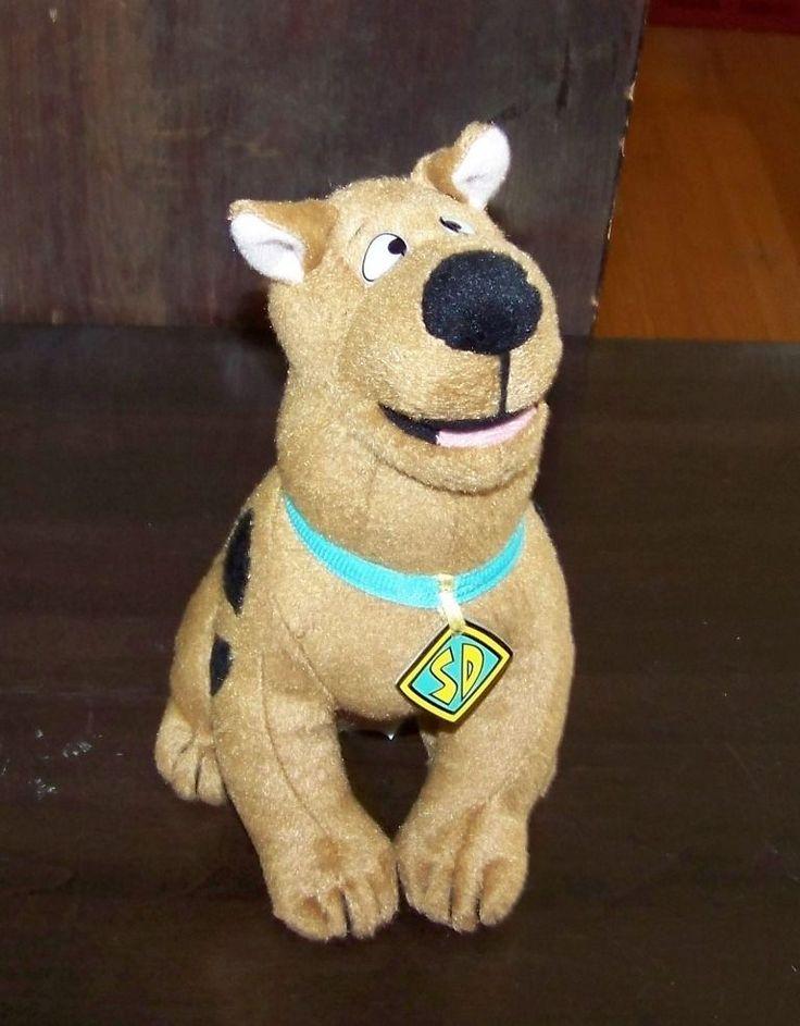 "Ganz Hanna Barbera Cartoon Network Scooby Doo plush 10"" stuffed toy animal vtg  | eBay"