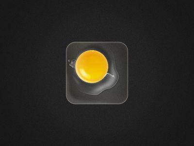 raw egg app icon
