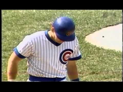 Harry Caray's call of the Sandberg game vs Cards