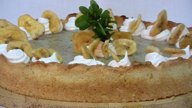 Tarta de ricotta y banana: De Ricotta, Pie