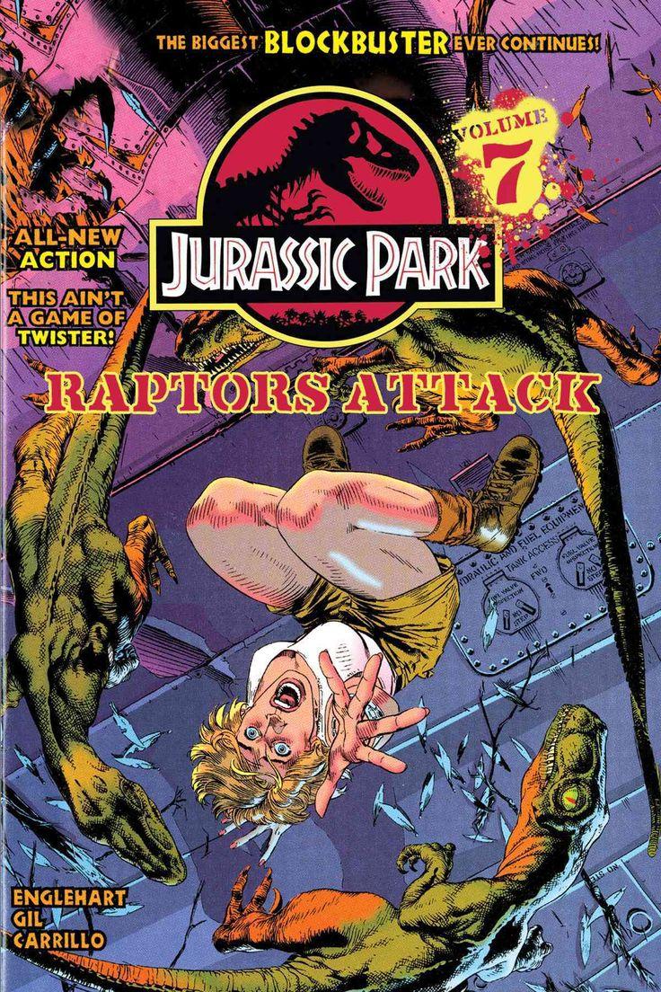 Jurassic park card 3 by chicagocubsfan24 on deviantart - Jurassic Park 7 Raptors Attack