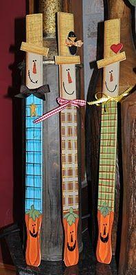 Megpie Designs: Just the Crafts ...made from paint stir sticks