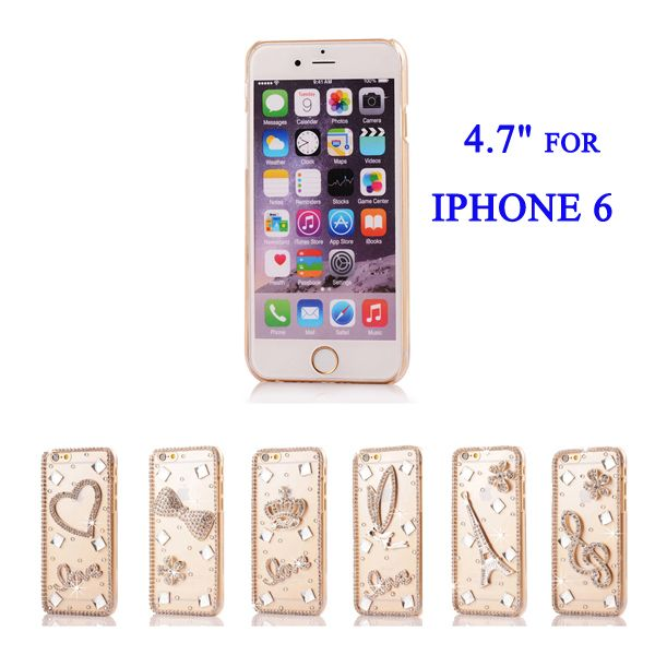 """Fashion 3D Bling Rhinestone Crystal Hard Case for iPhone 6 4.7"""" // iPhone Covers Online //   Price: $ 9.95 & FREE Shipping  //   http://iphonecoversonline.com //   Whatsapp +918826444100    #iphonecoversonline #iphone6 #iphone5 #iphone4 #iphonecases #apple #iphonecase #iphonecovers #gadget #gadgets"""