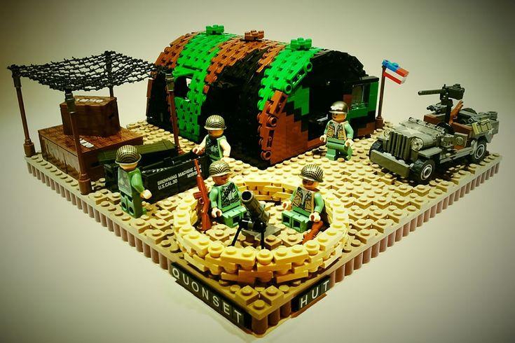 ~ Lego Mocs Holidays ~ Veteran's Day ~ US Marines Barracks ...