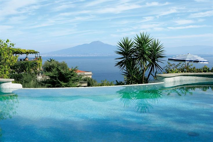 Grand Hotel Capodimonte, Sorrento, short walk to town, a top choice